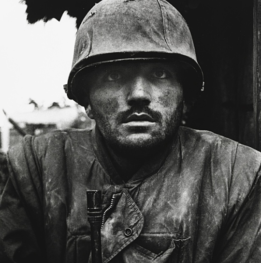 don mccullin soldier photo black and white